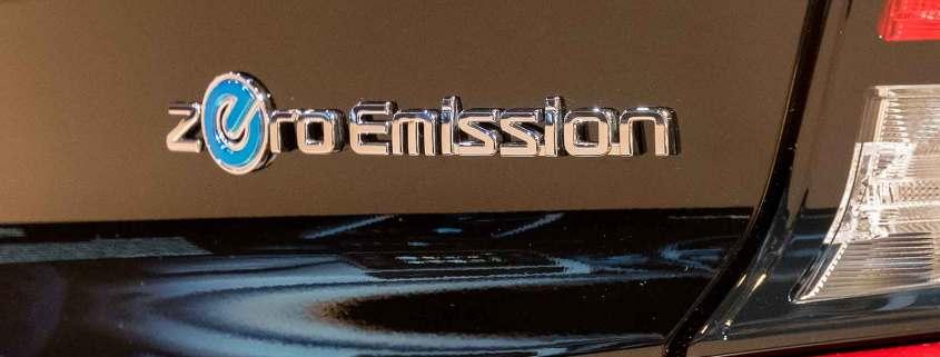 Nissan Zero Emissions logo