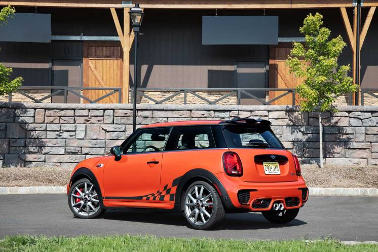 2019 Mini John Cooper Works International Orange Edition