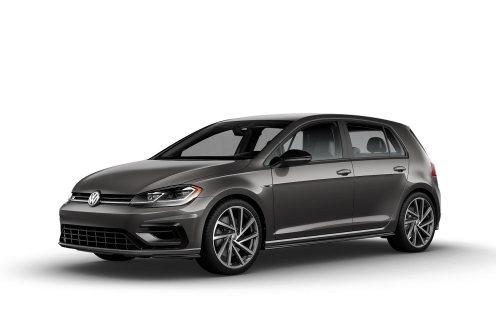 2019 VW Golf R Mocha Anthracite
