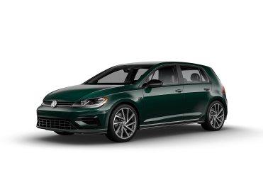 2019 VW Golf R Racing Green