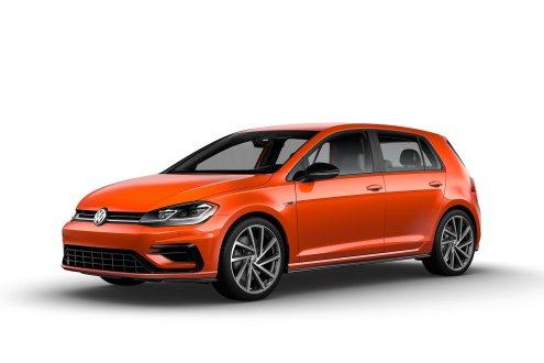 2019 VW Golf R TNT Orange
