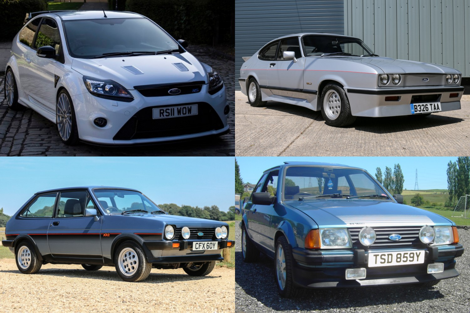 Fast Fords up for grabs