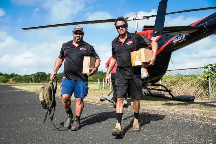 Nissan flies in mechanics to Torres Strait Islands