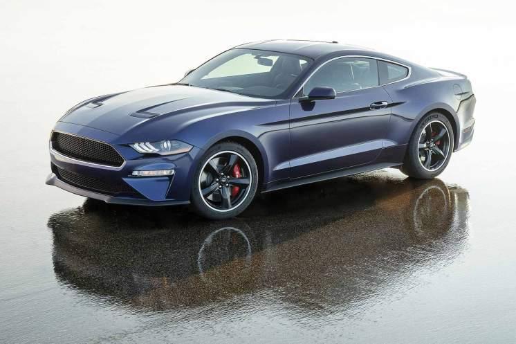 Ford Mustang Bullitt in Kona Blue