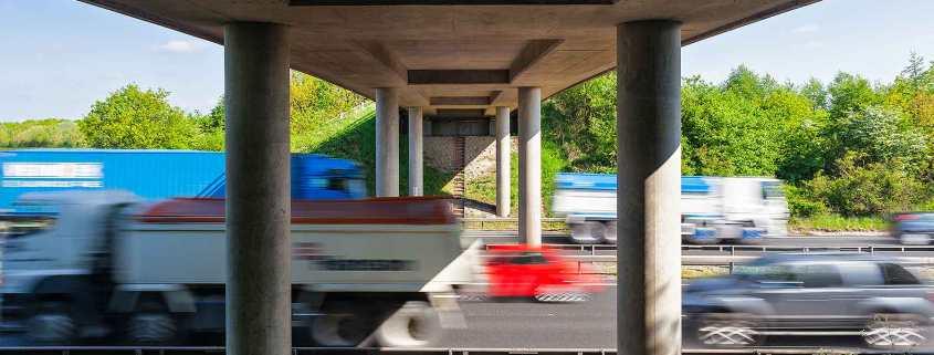 Road bridge in England