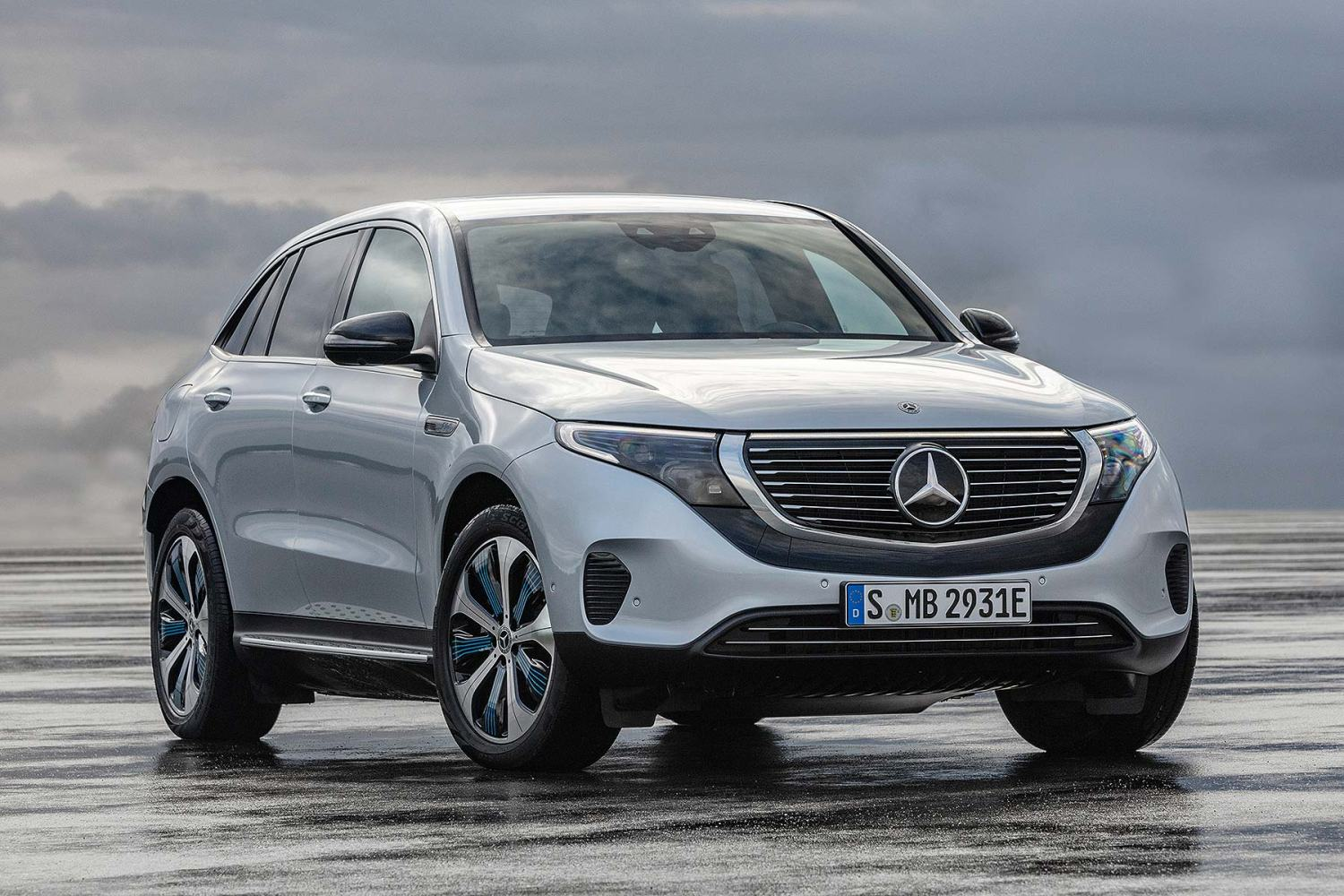 cabfdbea1 Mercedes-Benz EQC electric SUV is Germany's first response to Tesla ...