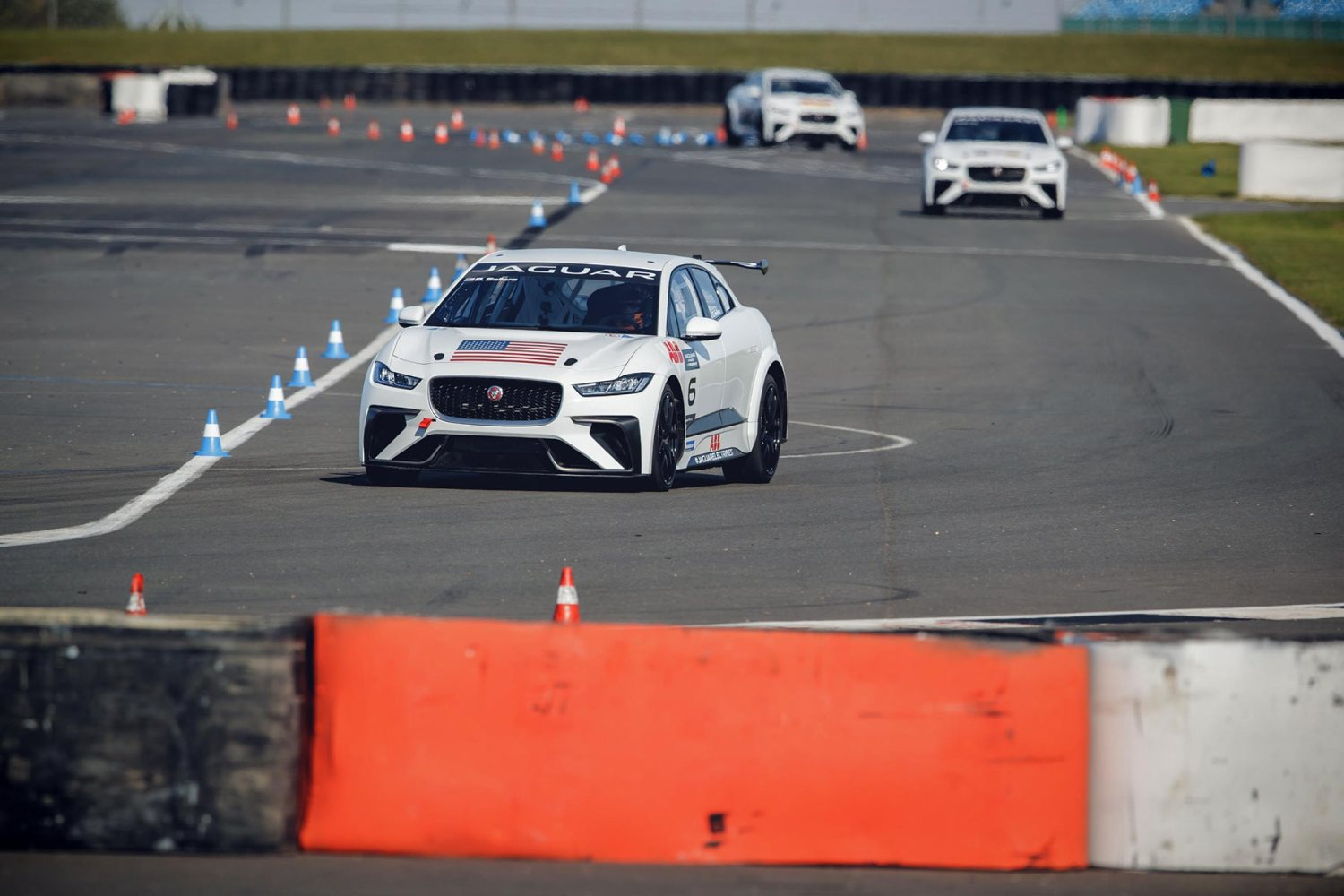 Jaguar I-Pace eTrophy Test Session