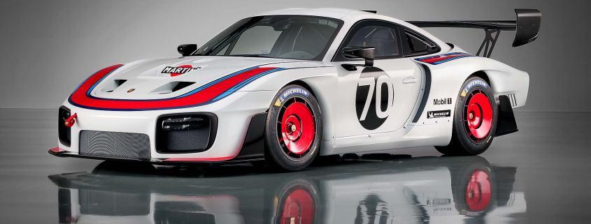 Retro Porsche 935 edition