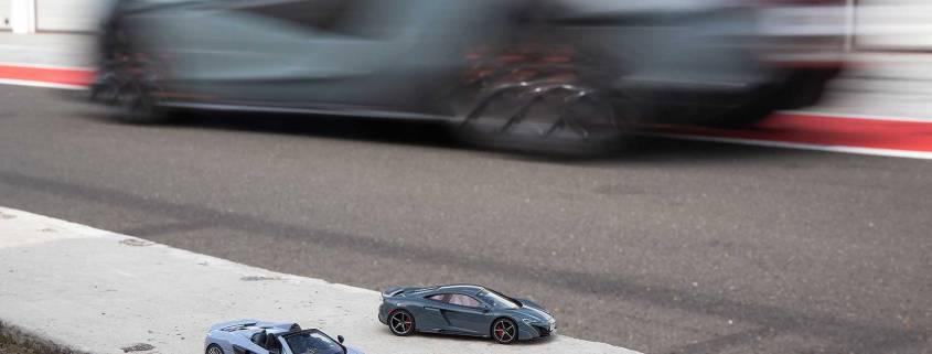 McLaren 600LT scale model