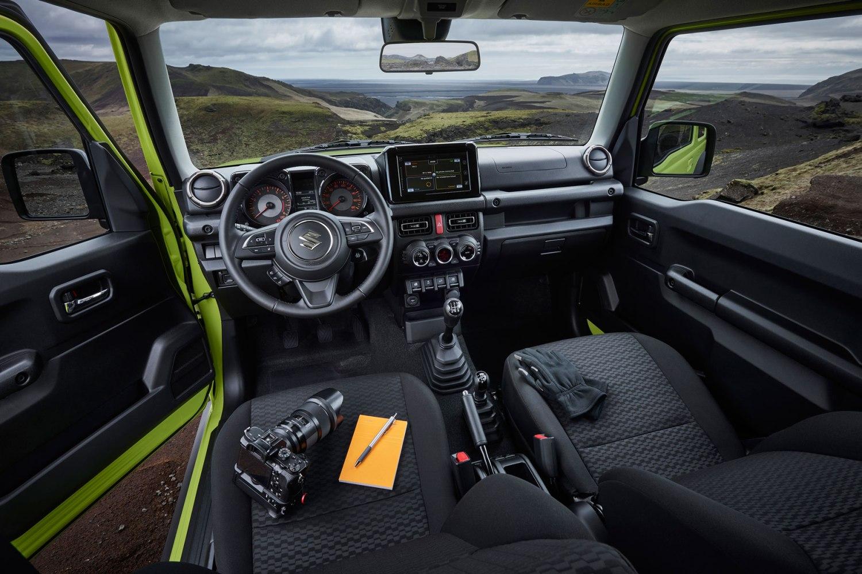 New Suzuki Jimny interior