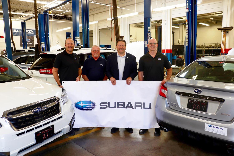 Subaru opens college degree course