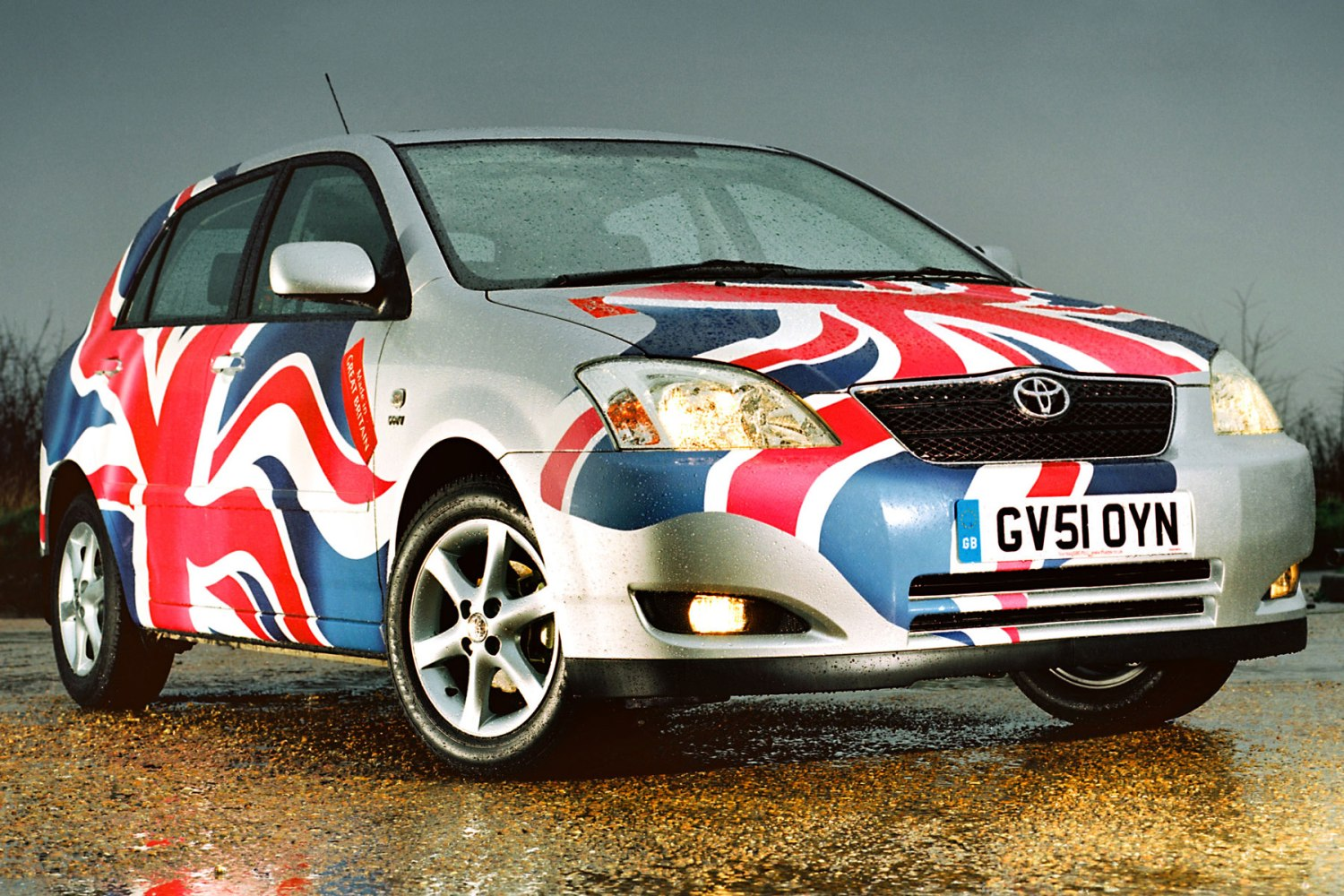 Toyota Corolla Union Flag