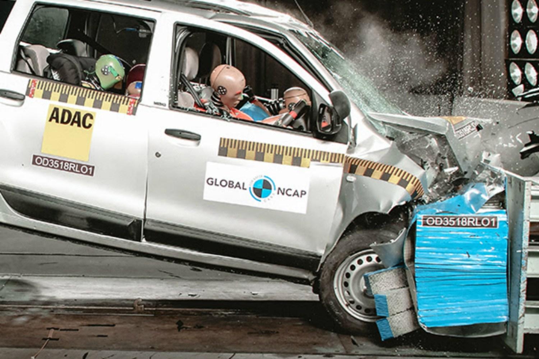 NCAP Renault crash