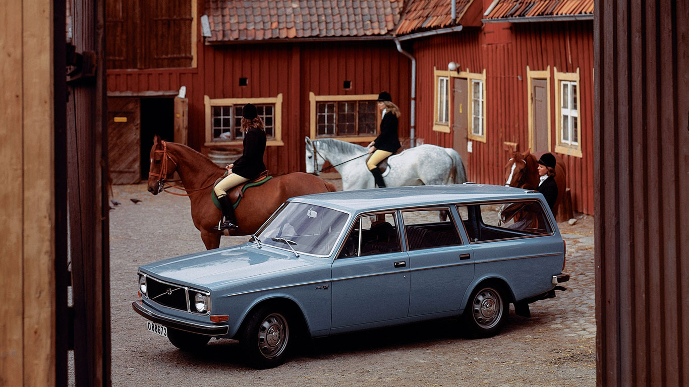 History of Volvo estates
