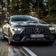 Mercedes-AMG GT 63 S 4MATIC+ at the Nurburgring