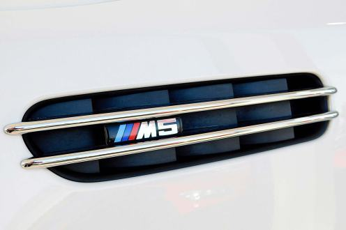 Jenson Button's old 2005 BMW M5