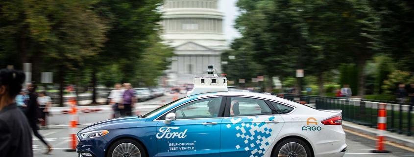 Ford autonomous vehicle tests in Washington, D.C.