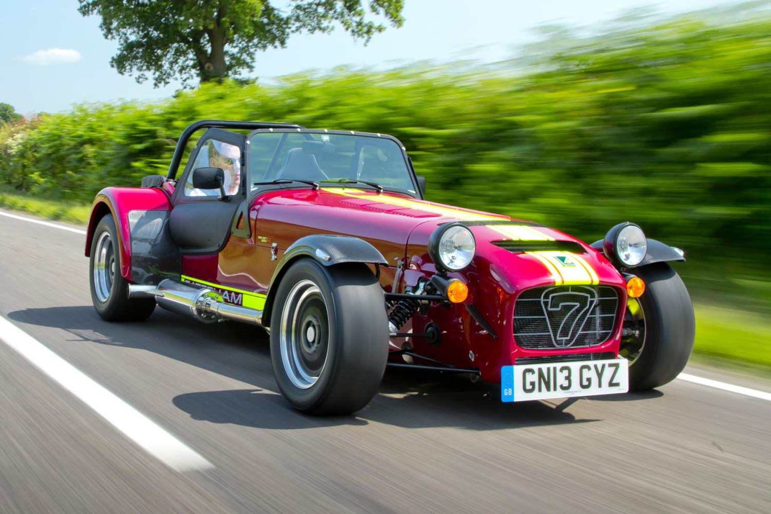 Caterham Seven 620R – 2.79 seconds