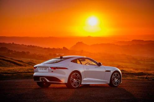 Jaguar F-Type Chequered Flag special edition