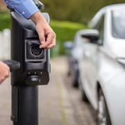 char.gy lamppost EV charging unit