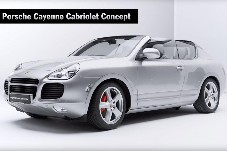 Porsche Cayenne Cabriolet