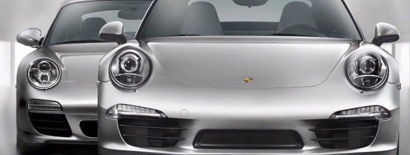 Porsche 991 and 997