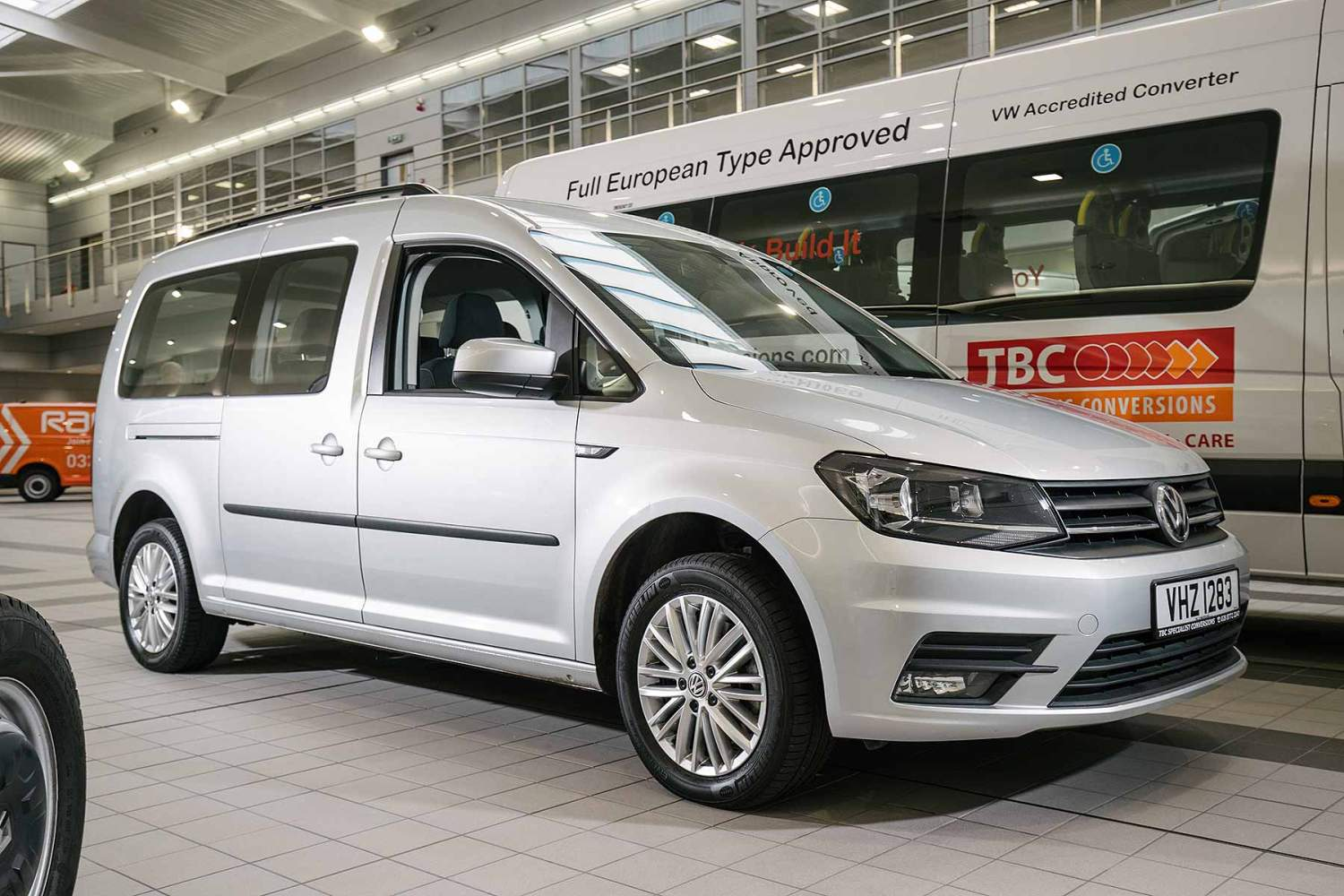 Volkswagen Caddy Life is available on some special Motability offers