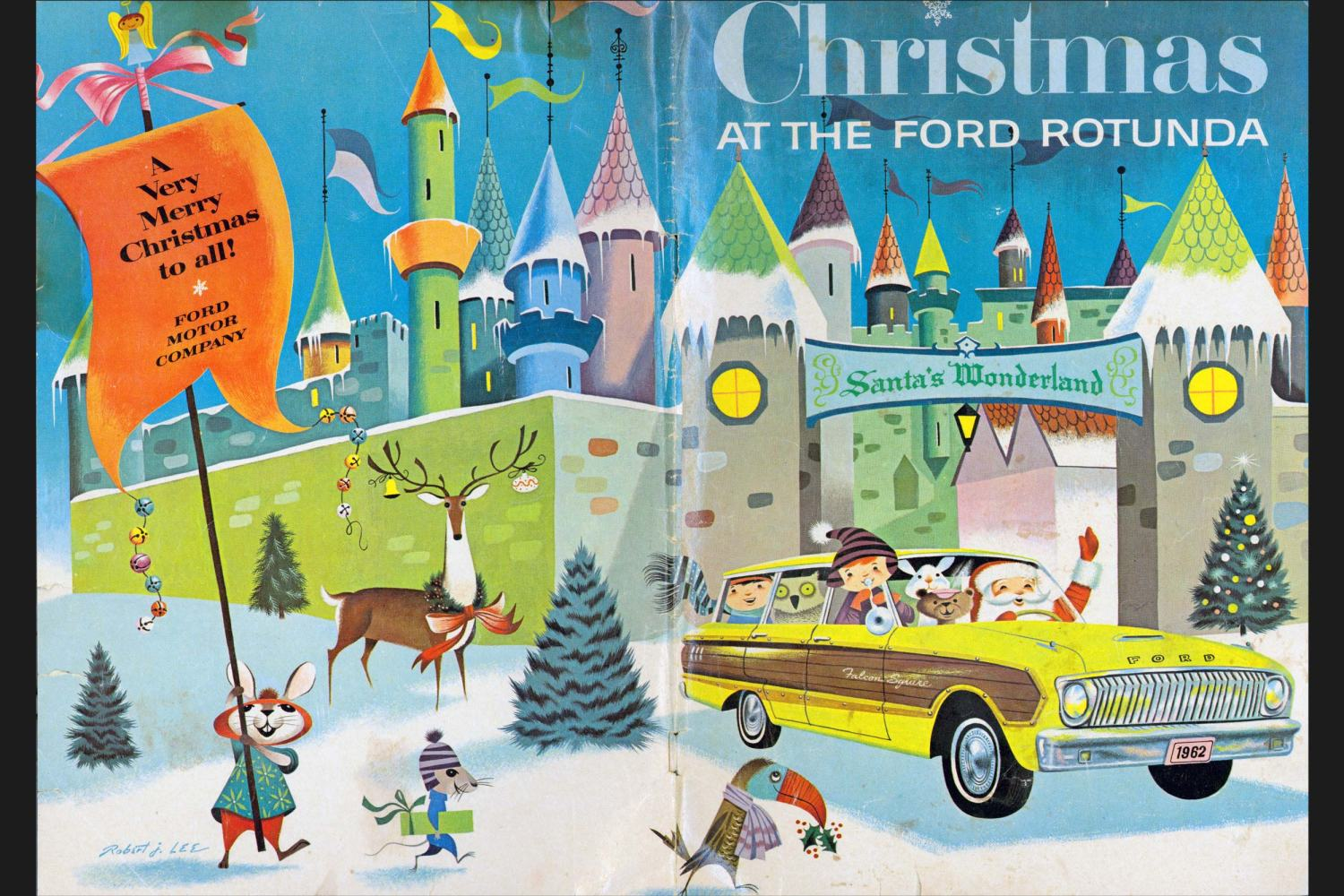 1962 Rotunda Christmas Coloring Book