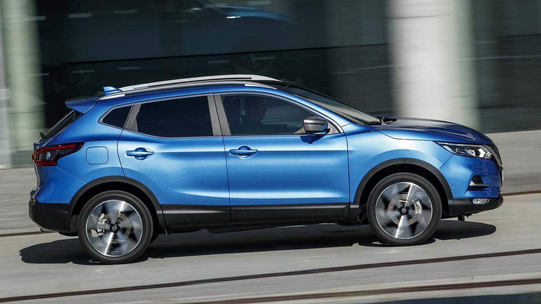2019 Nissan Qashqai in blue