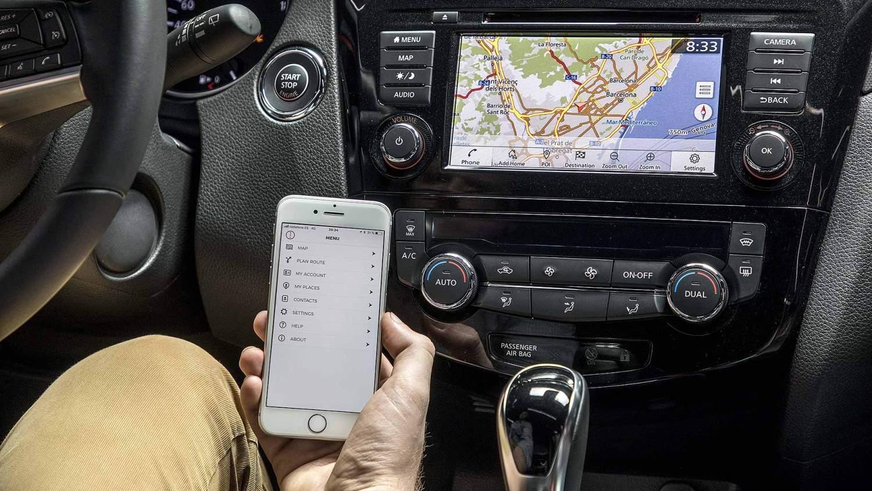 2019 Nissan Connect infotainment