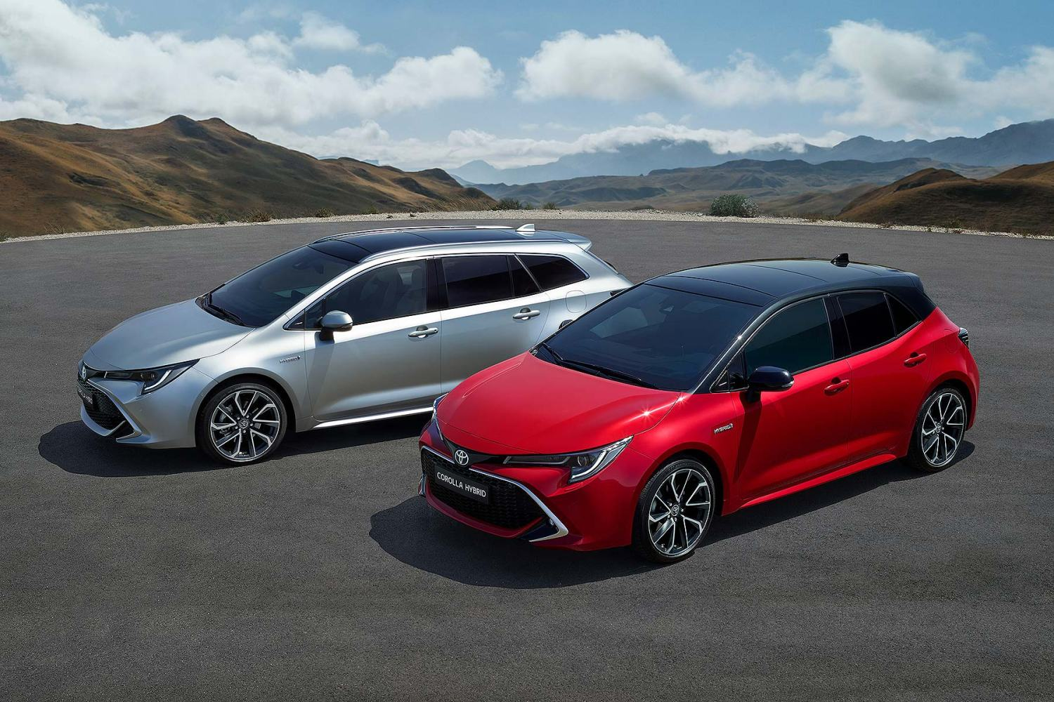 2019 Toyota Corolla Touring Sports and hatch