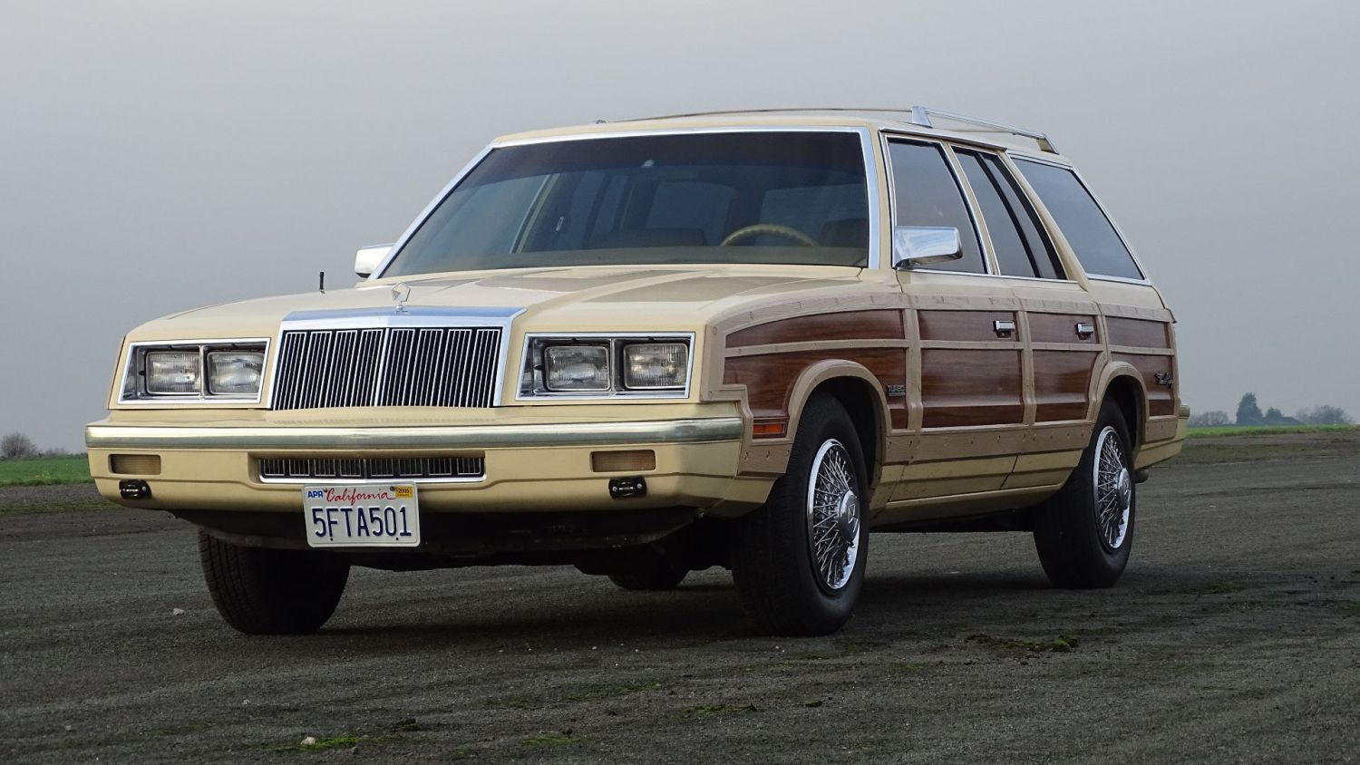 Frank Sinatra Chrysler Woody Wagon up for sale H&H Classics