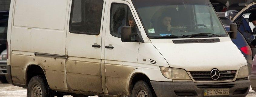Dirty van