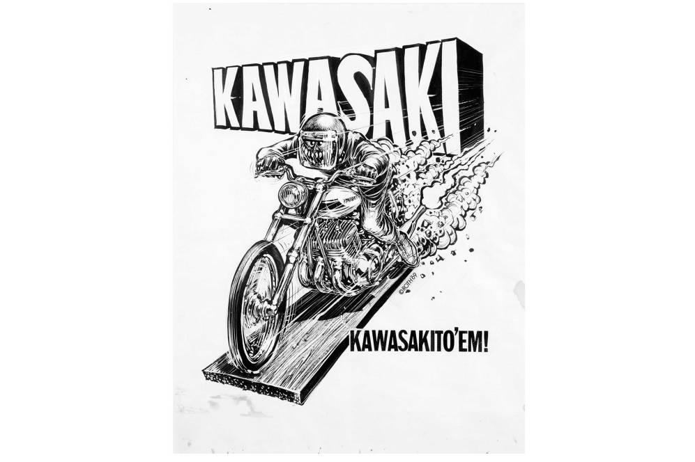 Kawasaki by Roth Studios, 1969