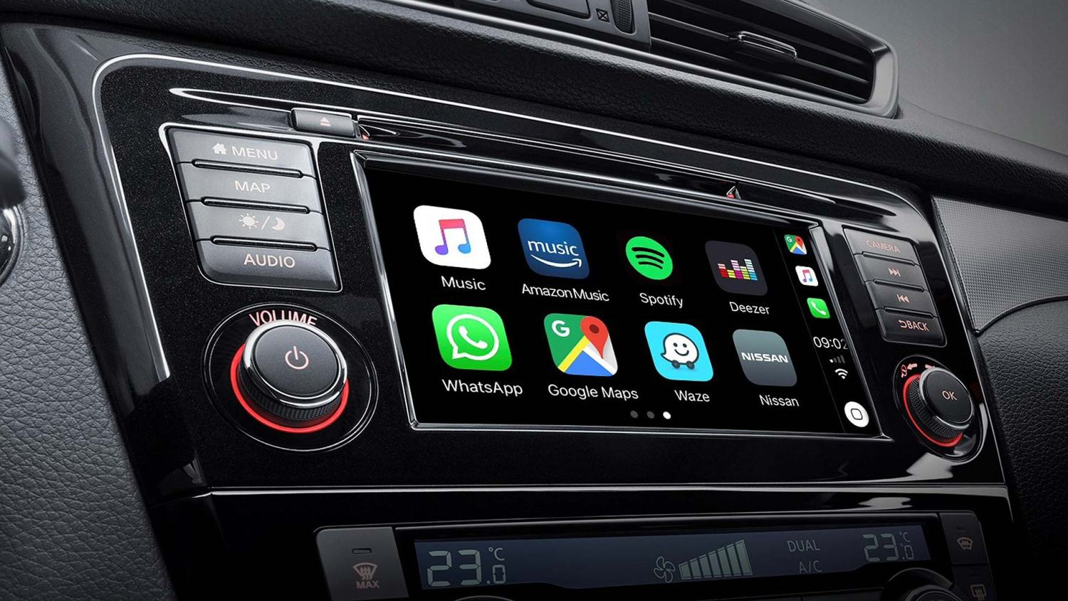 2019 Nissan Qashqai gets Apple CarPlay and Android Auto at