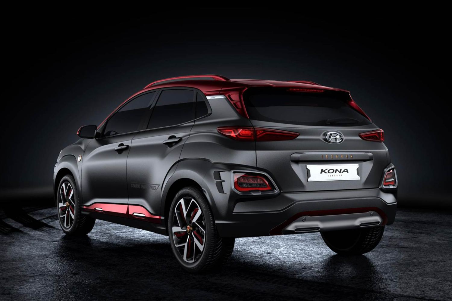 2019 Hyundai Kona Iron Man Edition