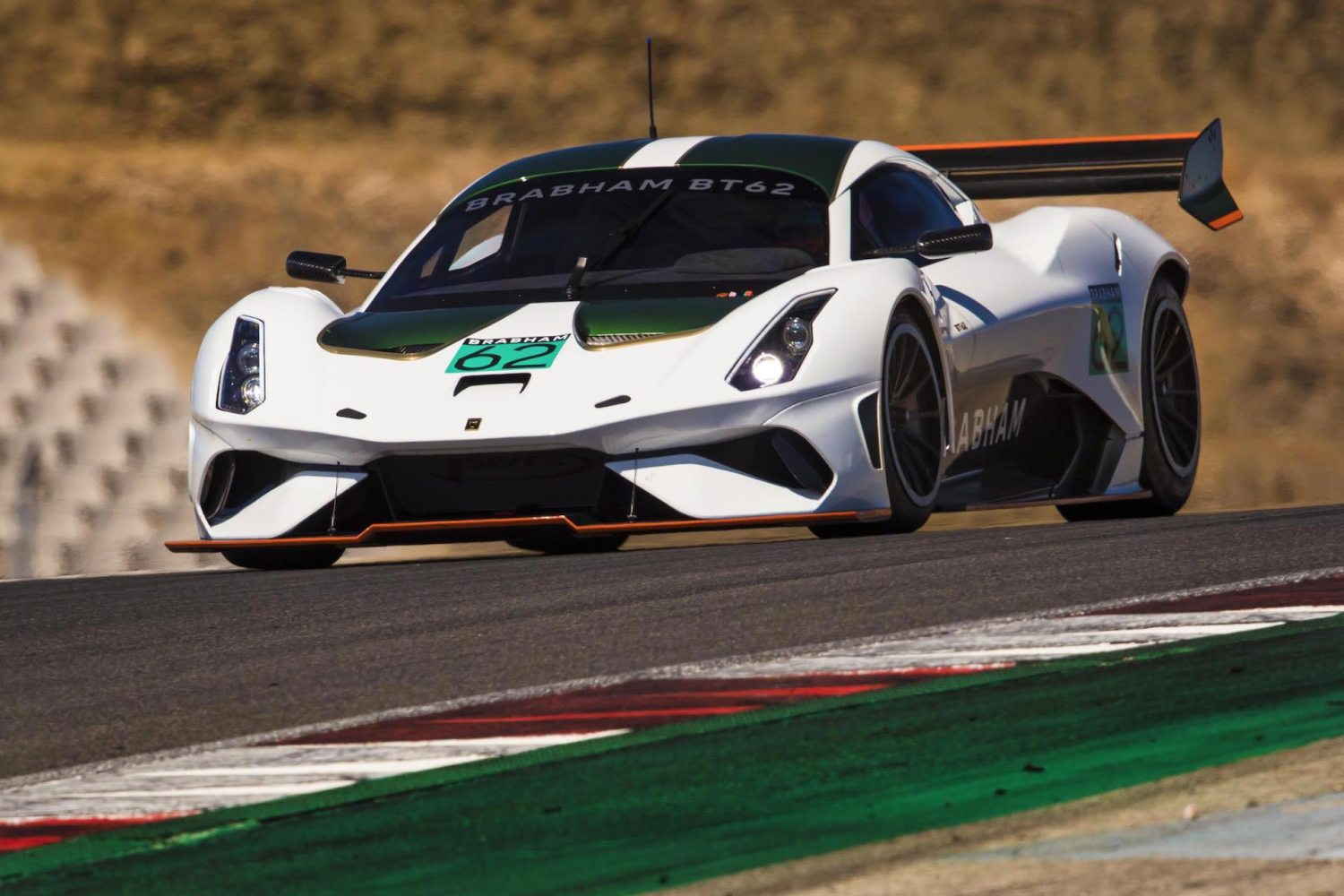Brabham Automotive BT62 to race at Le Mans