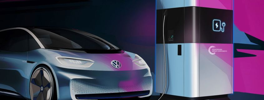 VW mobile charge points
