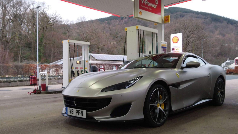 Ferrari Portofino road trip