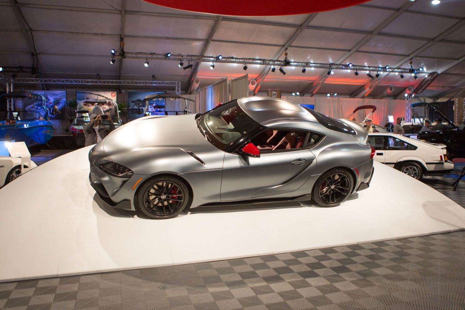 First 2020 Toyota Supra sells big at auction