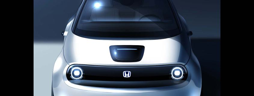 Honda electric vehicle concept