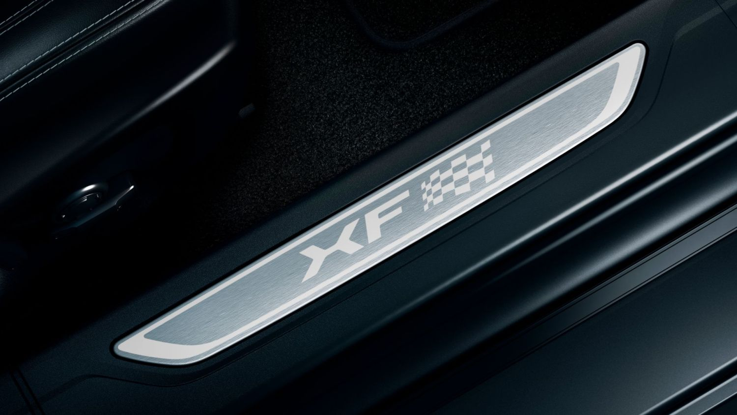 2020 Jaguar XF Chequered Flag