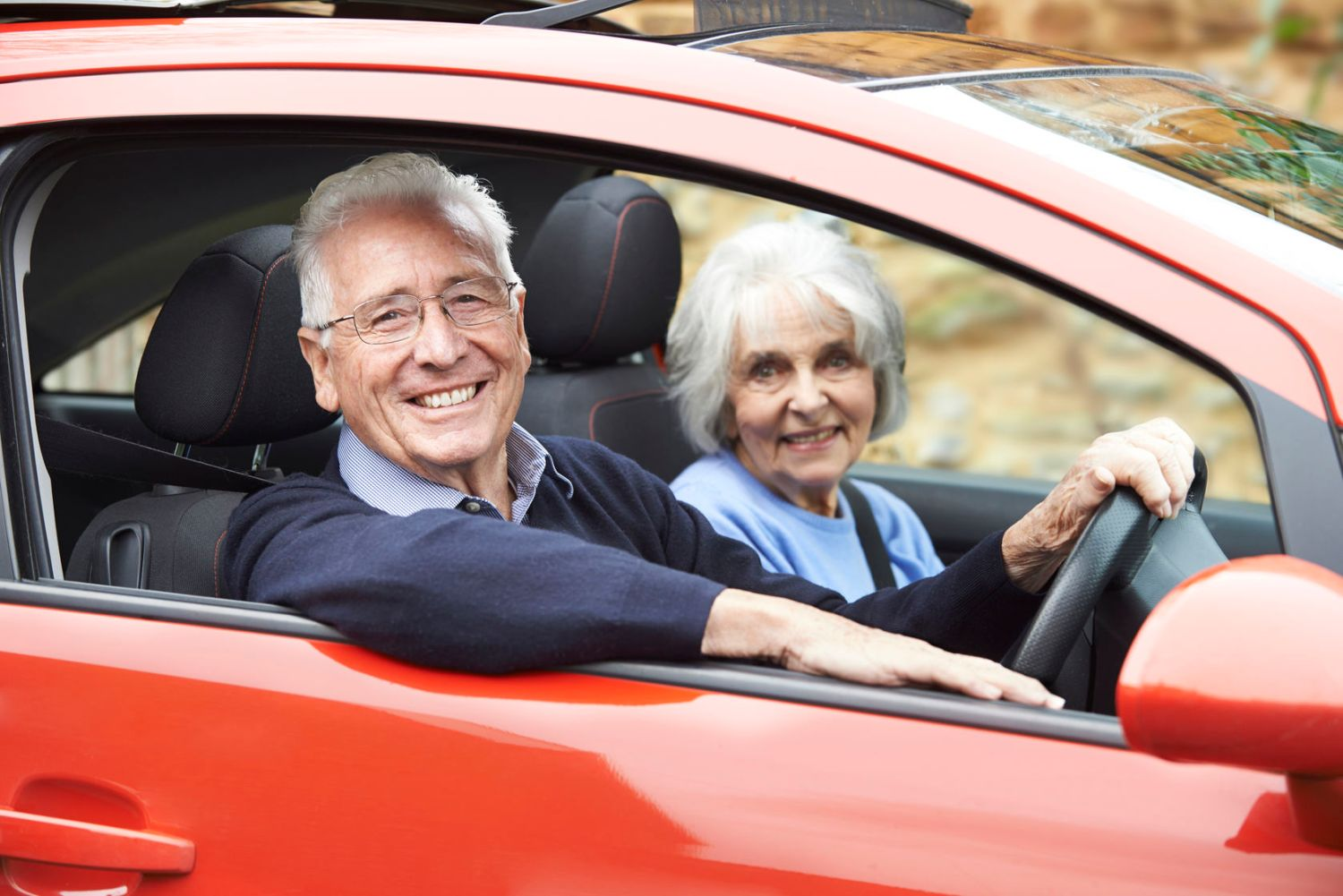 Elderly drivers off the road