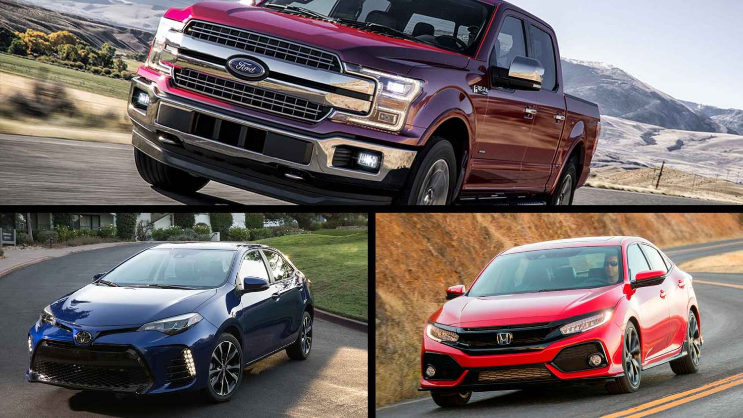 World's best-selling cars 2018