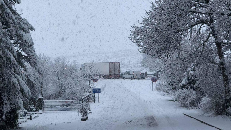 Jamaica Inn snow bout Highways England