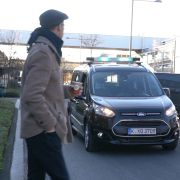 Ford lights autonomous cars communication pedestrians