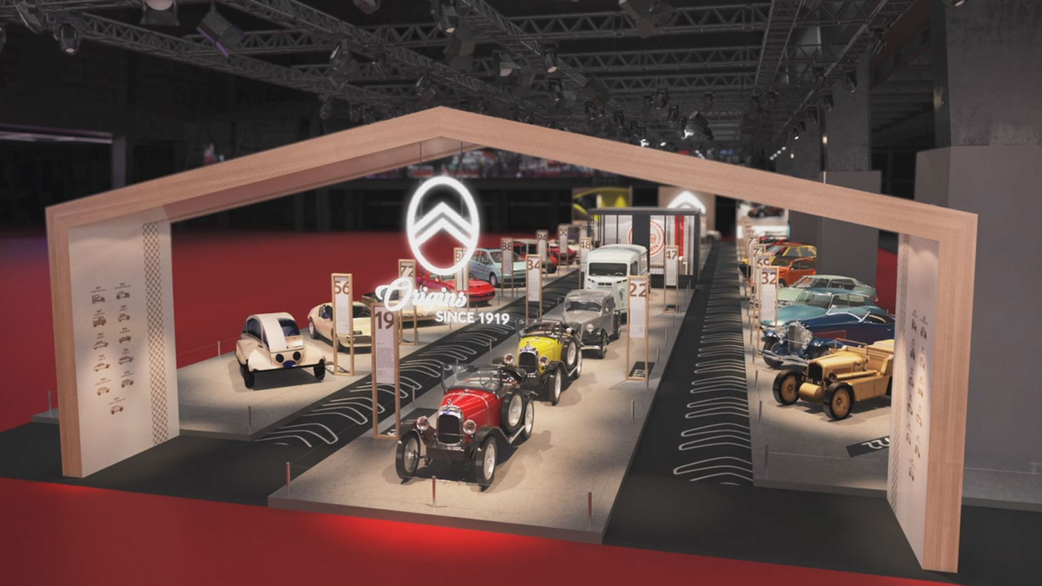 Citroen at Retromobile 2019