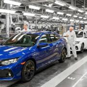 Honda car factory in Swindon