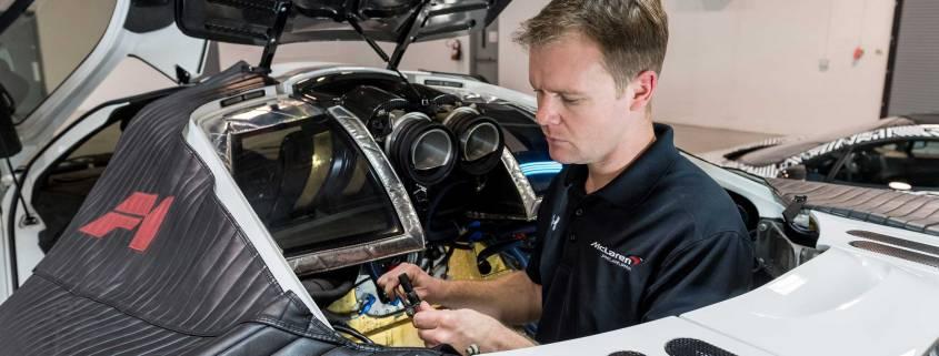 McLaren service