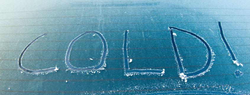 de-icing windscreens